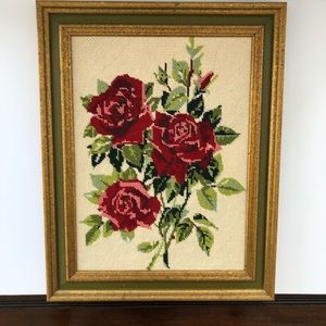 Other - Absolutely beautiful Rose Needlepoint canvas